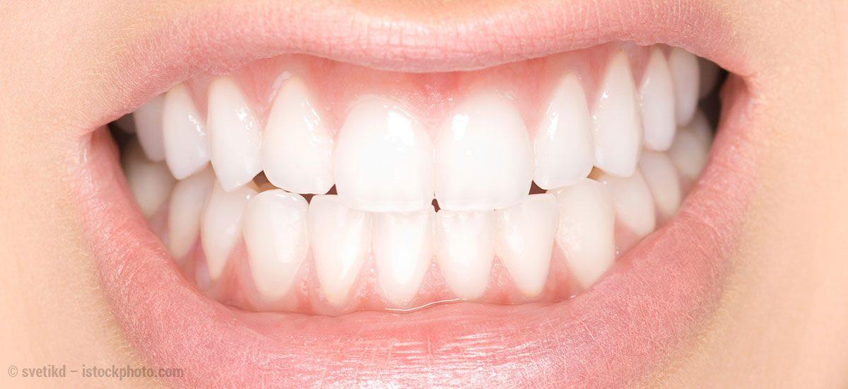 Zahnschmelz - Schutzmauer unserer Zähne
